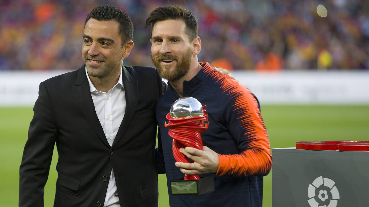Xavi Messi May Be More Silent In The Dressing Room But Is An Absolute Leader As Com