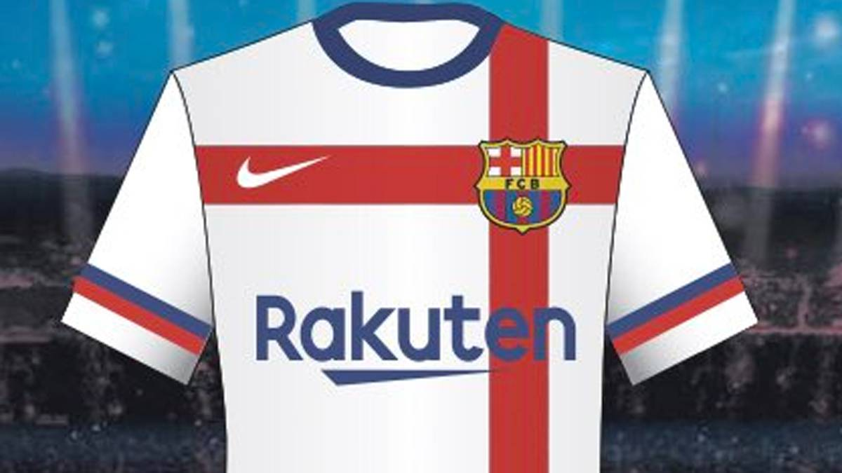the latest d4a88 574bf Barcelona reject white jersey design by Nike - AS.com