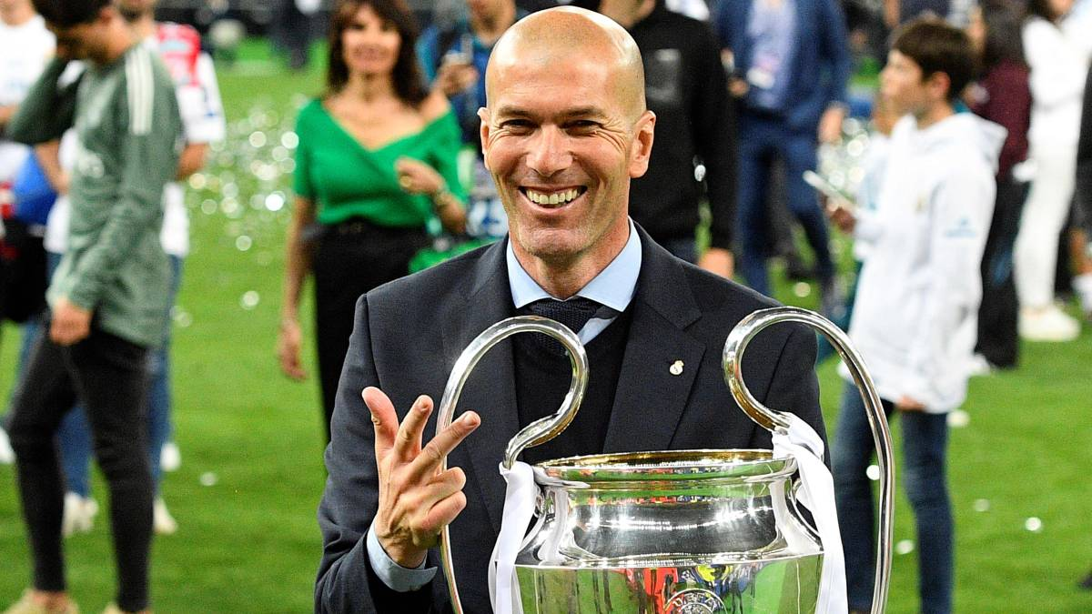 Zidane returns to Real Madrid: five Champions Leagues won - AS.com