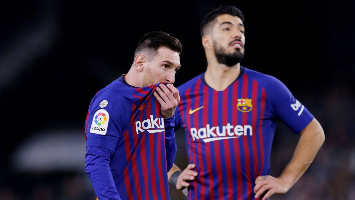 Messi And Suarez Expected To Be Fit To Face Espanyol As Com