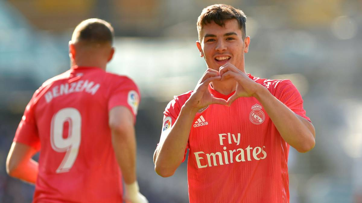 Brahim winning over Zidane and Real Madrid after excellent goal