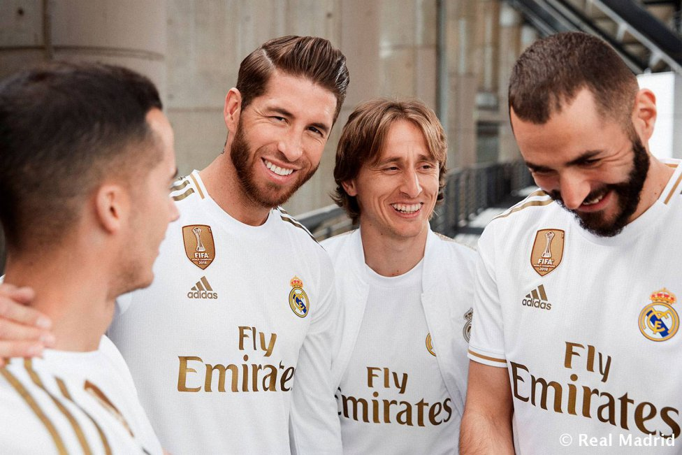 low priced dc9f3 10827 Real Madrid's 2019/20 Adidas home kit officially unveiled ...