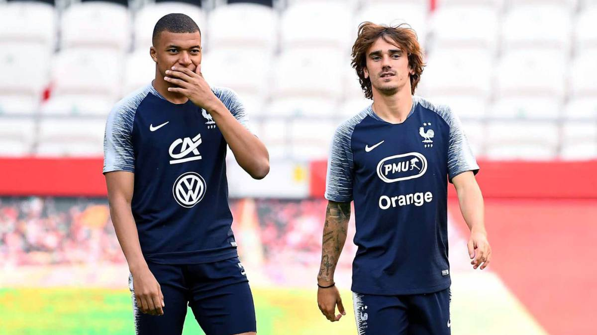 Griezmann Set To Join Psg As Club Shop For Mbappe's Replacement