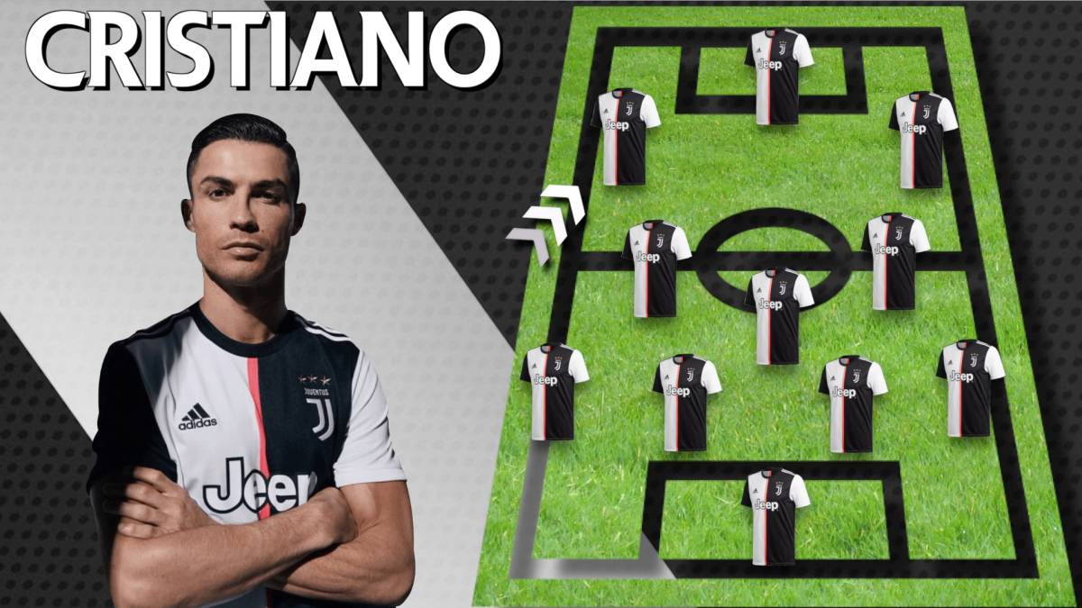 Built Around Cristiano To Win Champions League Juventus Xi As Com
