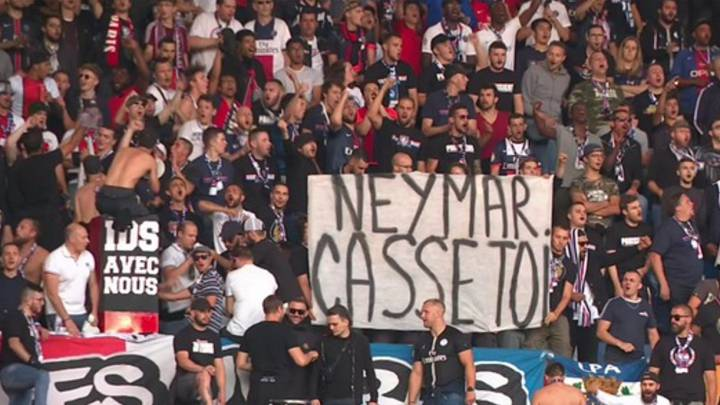 Image result for psg vs nimes neymar banner
