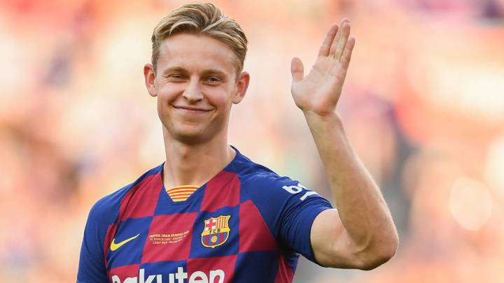Frenkie de Jong in search of a clear role at Barcelona - AS.com