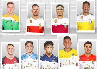 Real Madrid's young stars - the future looks all white