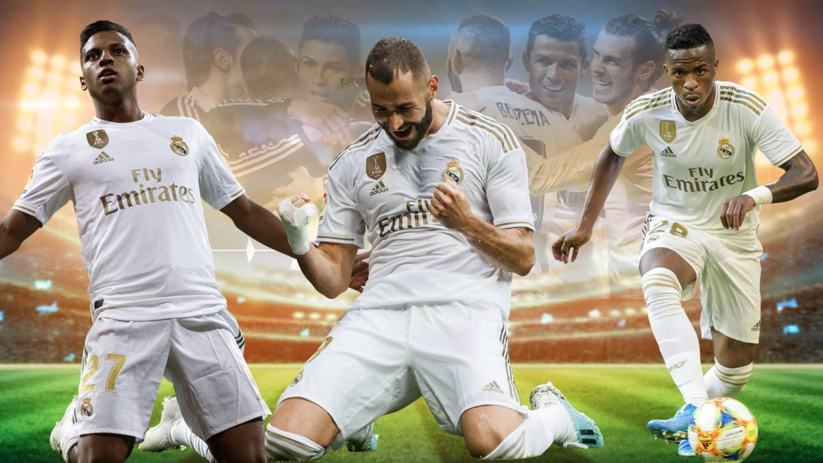 Real Madrid's 'RBV', Zidane's alternative to the 'BBC' - AS.com