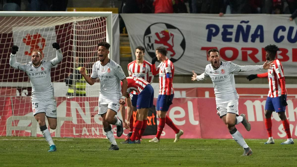 Atlético Stunned By Cultural Leonesa In Copa Del Rey Shock As Com
