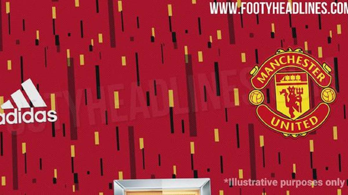 New Man United Shirt Leaked Online And Fans React As Com