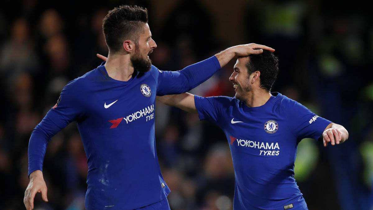 Lazio set sights on Chelsea's free agents Pedro and Giroud | football