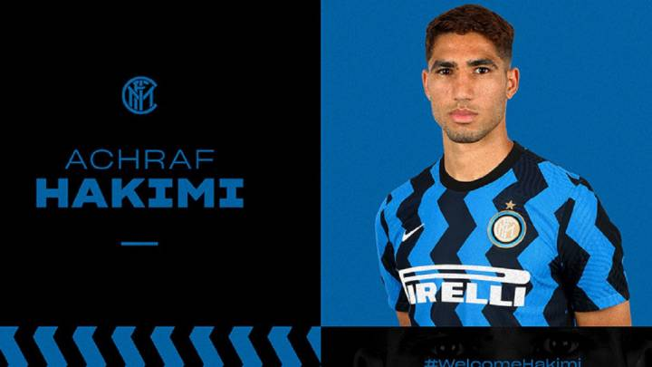 Real Madrid: Achraf Hakimi move to Inter Milan confirmed - AS.com
