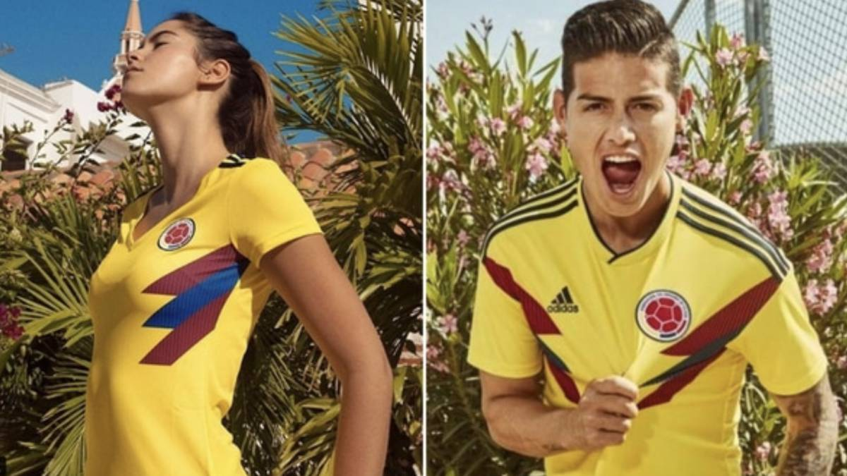 Team Colombia Used Football Miss Launch For Adidas Angers Shirt exBdorC