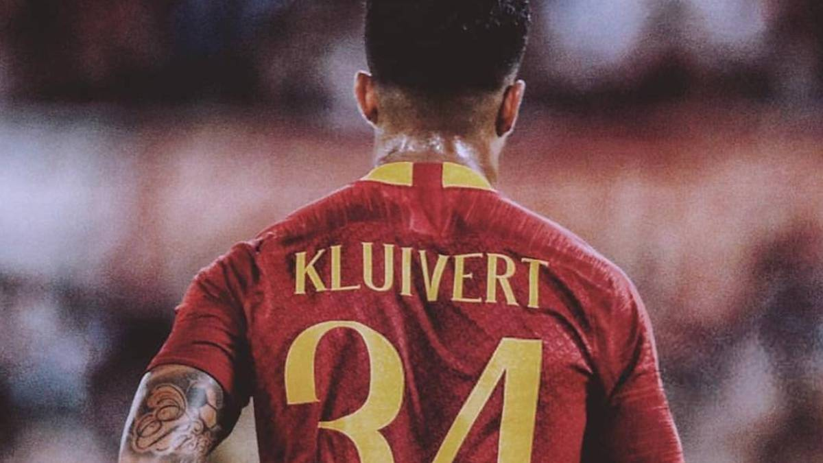 The reason why Justin Kluivert and Philippe Sandler wear the No.34 ... cdd3fbd5c61